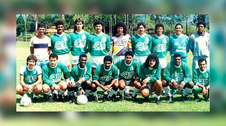 Atlético Nacional - Campeón Copa Libertadores 1989