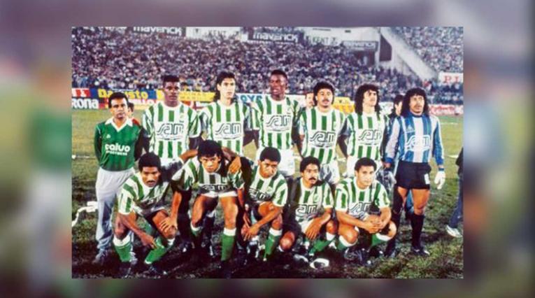 Atlético Nacional, equipo campeón de la Copa Libertadores