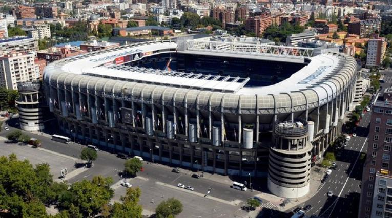 Estadio Santiago Bernabéu de Madrid