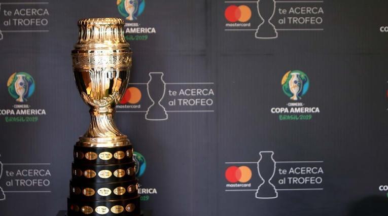 Trofeo de la Copa América en Colombia