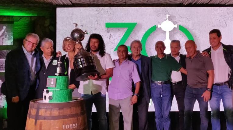 René Higuita y los héroes de la Copa Libertadores de 1989