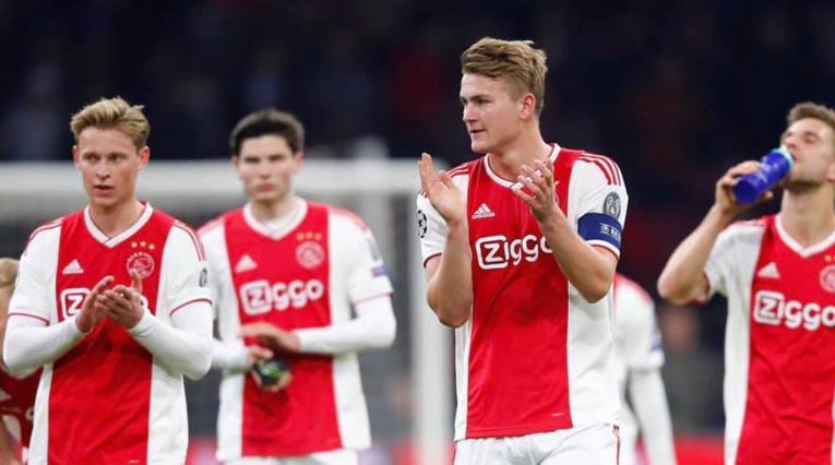 Matthijs de Ligt y Frenkie de Jong - Ajax