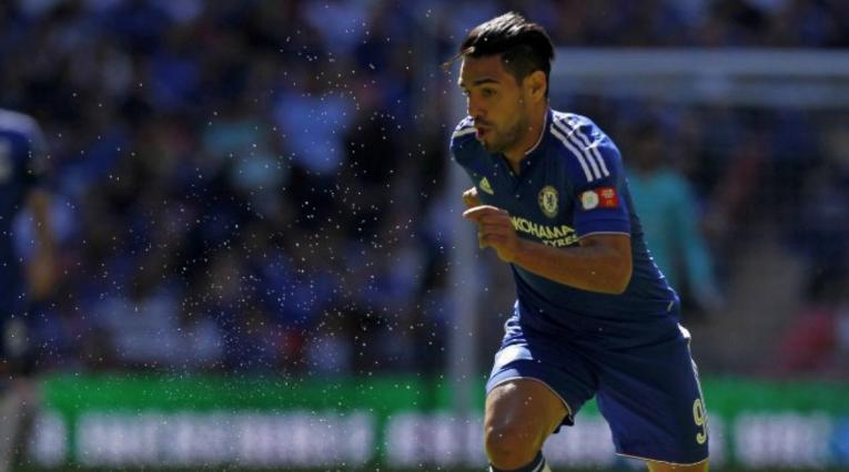 Falcao - Chelsea 2016