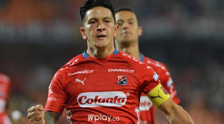 Germán Ezequiel Cano, delantero de Independiente Medellín