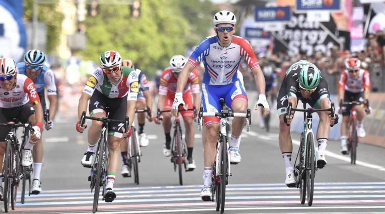 Arnaud Demaré del Groupama - Giro de Italia