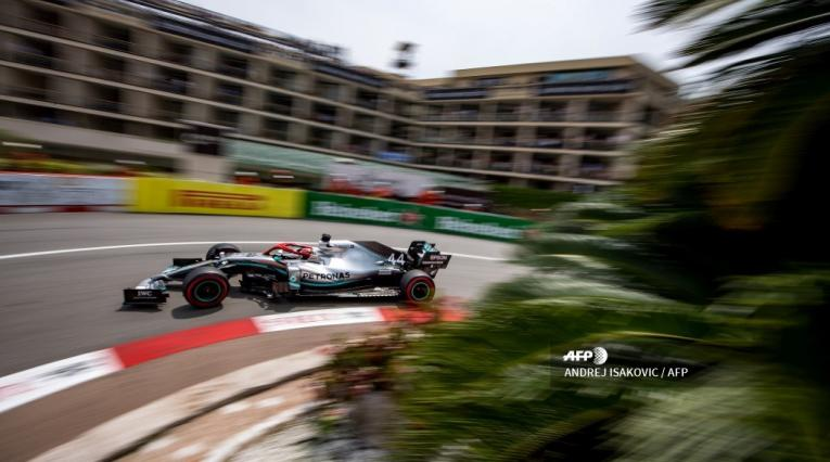 Gran Premio de Mónaco, con la pole de Lewis Hamilton
