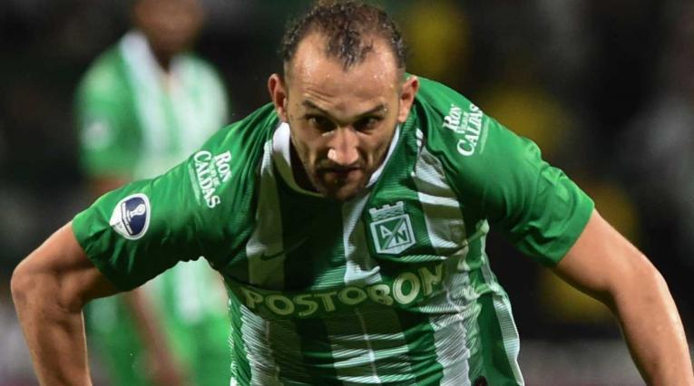 Atlético Nacional no pudo soñar con la remontada ante Fluminense. Hernán Barcos anotó el gol en Medellín.