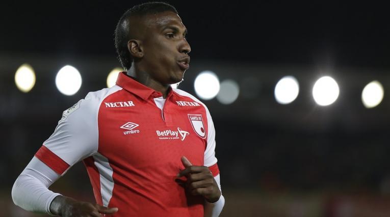 Johan Arango, futbolista de Independiente Santa Fe