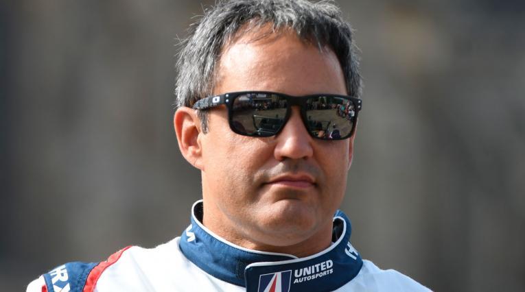 Juan Pablo Montoya, piloto de IMSA en Estados Unidos