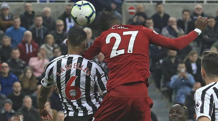 Liverpool derrotó al Newcastle en la Premier