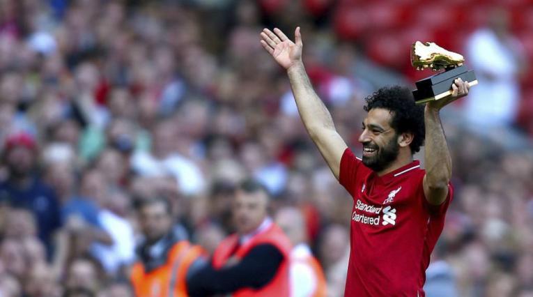 Mohamed Salah, bota de oro 2017/2018