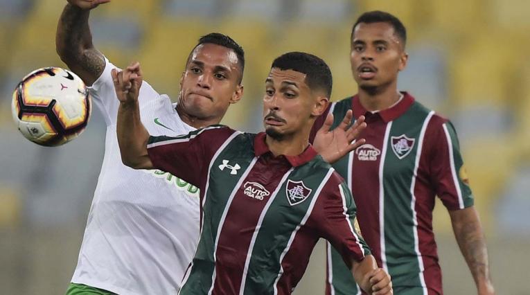 Nacional cayó goleado ante Fluminense