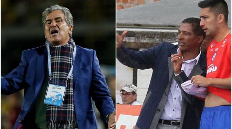 Jorge Luis Pinto y Alexis García