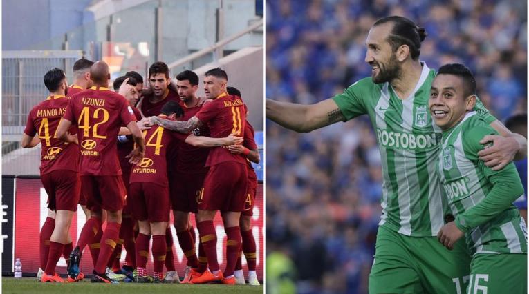 AS Roma y Atlético Nacional