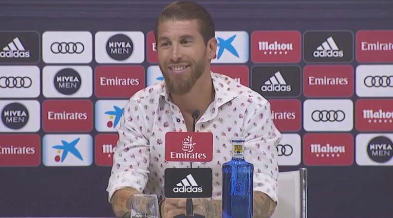 Sergio Ramos anuncia que seguirá en el Real Madrid