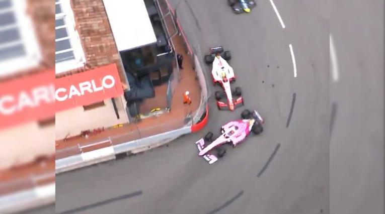 Tatiana Calderón fue chocada por el auto de Mick Schumacher