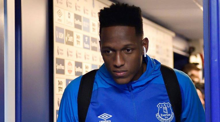 Yerry Mina podrá ser tenido en cuenta para el próximo partido del Everton