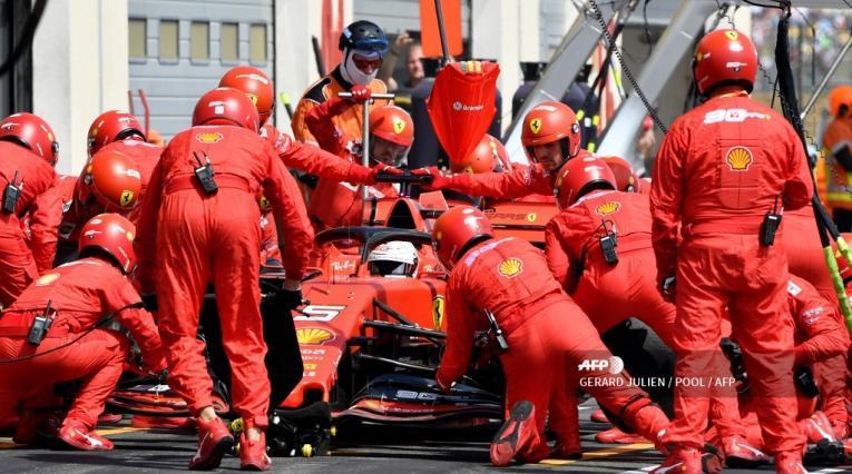 Ferrari · Gran Premio de Francia