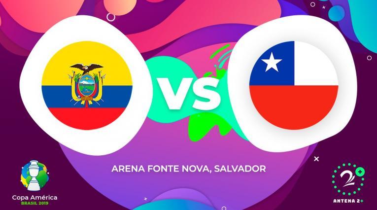 Ecuador vs Chile - Copa América 2019