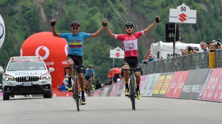 Giro de Italia sub 23 - Colombia campeón