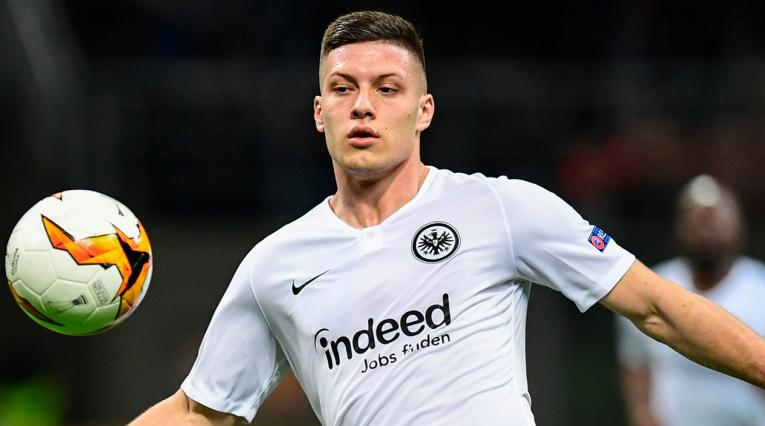 Eintracht Frankfurt · Luka Jovic