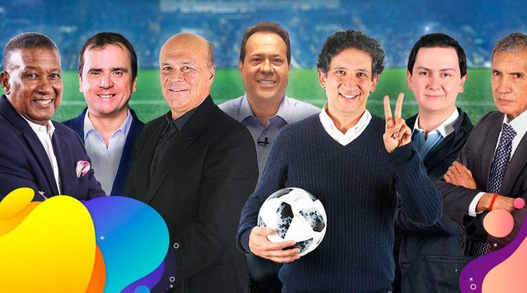 Los talentos de Antena 2 y RCN Radio en la Copa América.