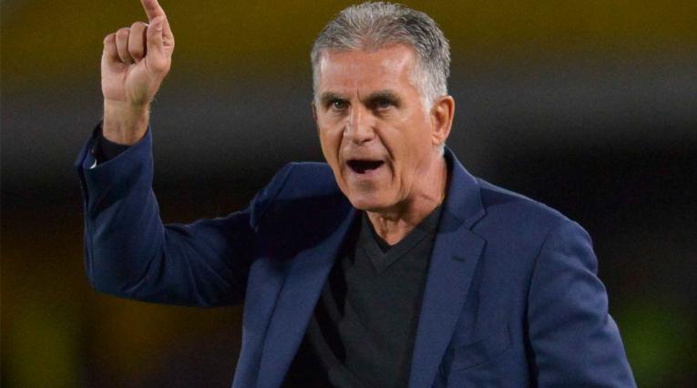 Selección Colombia · Carlos Queiroz