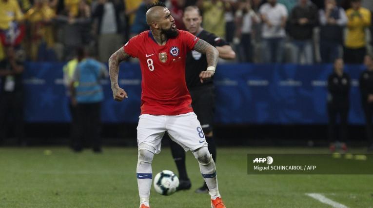 Arturo Vidal, selección de Chile
