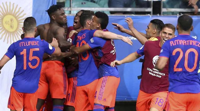 Colombia derrotó a Argentina en la Copa América