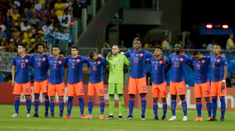 Selección Colombia en la Copa América 2019