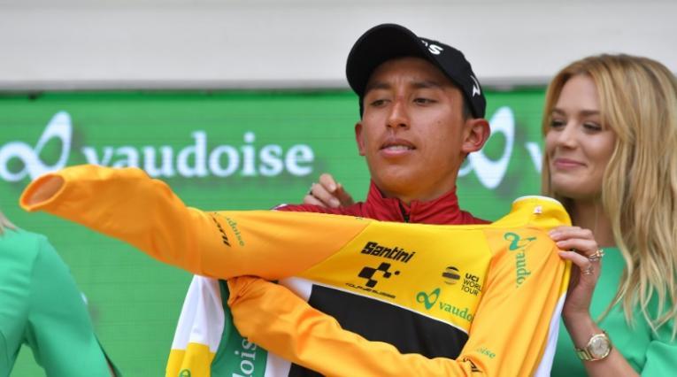 Egan Bernal, campeón del Tour de Suiza