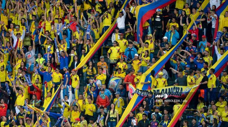 Selección Colombia · Hinchas