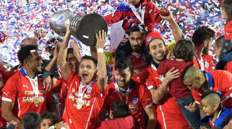 Chile, campeón de la Copa América en 2015