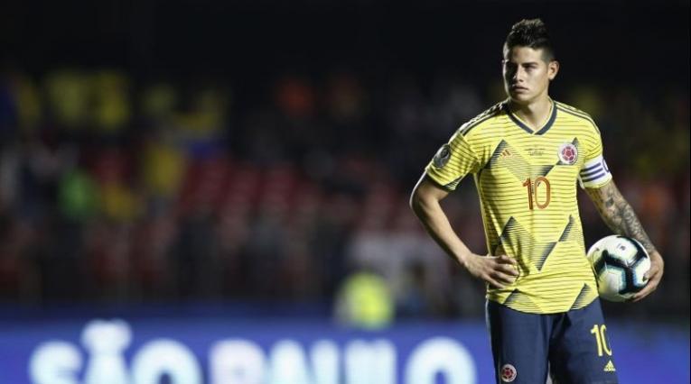 James Rodríguez - Colombia vs Chile Copa América