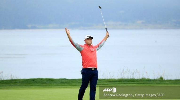 Gary Woodland ganó el US Open de golf