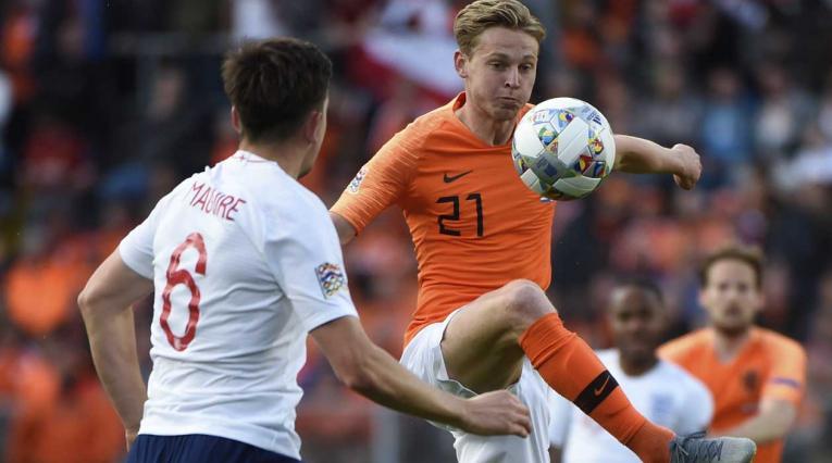 Holanda vs Inglaterra - Nations League