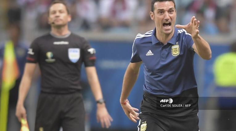 Lionel Scaloni, DT de Argentina