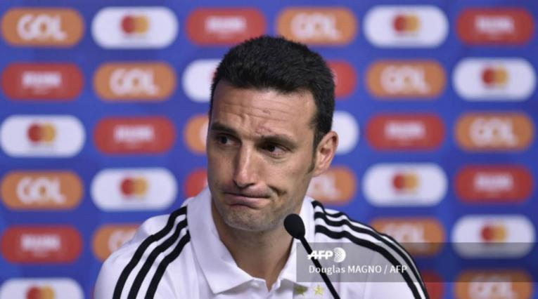 El seleccionador de Argentina, Lionel Scaloni