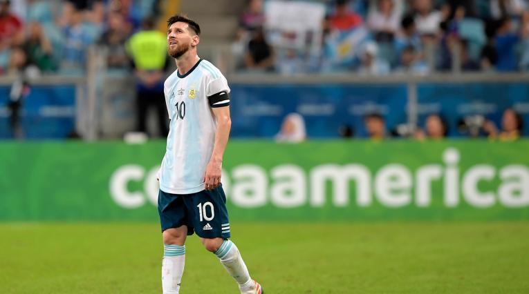 Lionel Messi, máximo referente de la Selección de Argentina
