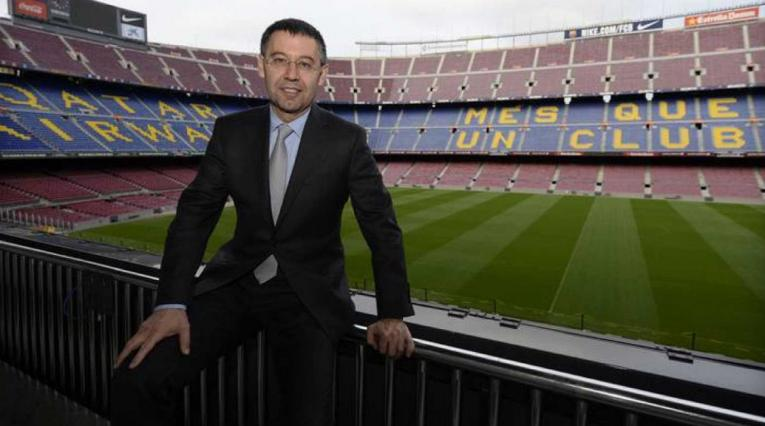 Bartomeu, presidente del Barcelona