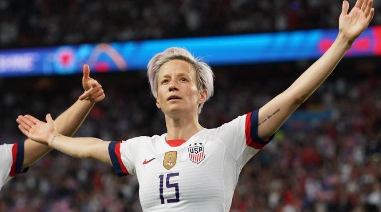 Megane Rapinoe, capitana selección femenina de fútbol, EE.UU.