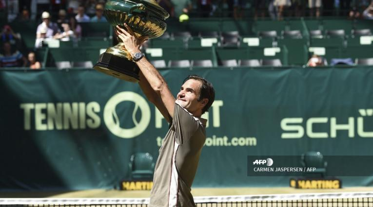 Roger Federer, título 102