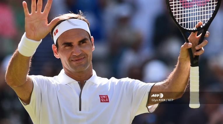 Roger Federer, Wimbledon, 2019