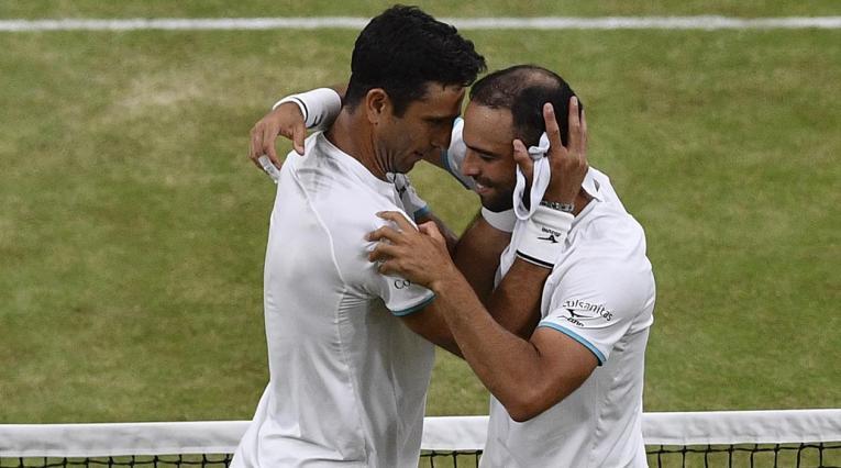 Juan Sebastián Cabal y Robert Farah, campeones en Wimbledon.