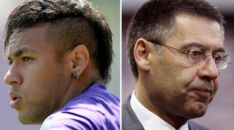 Neymar, Bartomeu