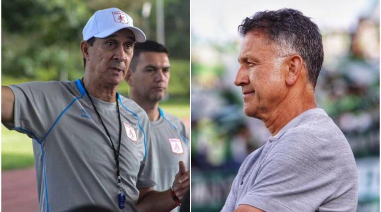 Alexandre Guimaraes y Juan Carlos Osorio
