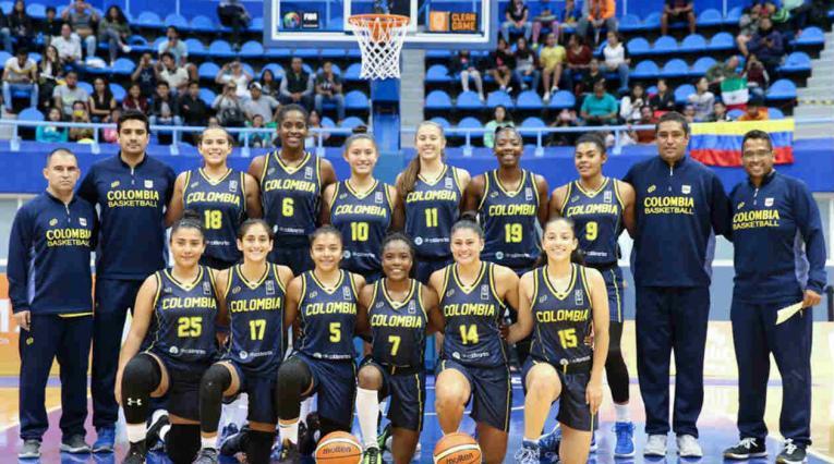 Selección Colombia de baloncesto sub 19