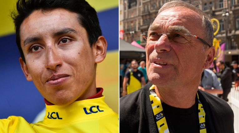 Egan Bernal, Bernard Hinault, Tour de Francia 2019