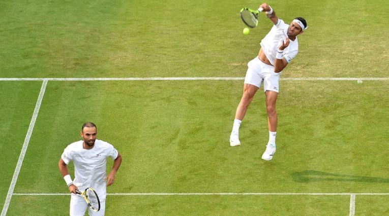 Cabal y Farah en Wimbledon