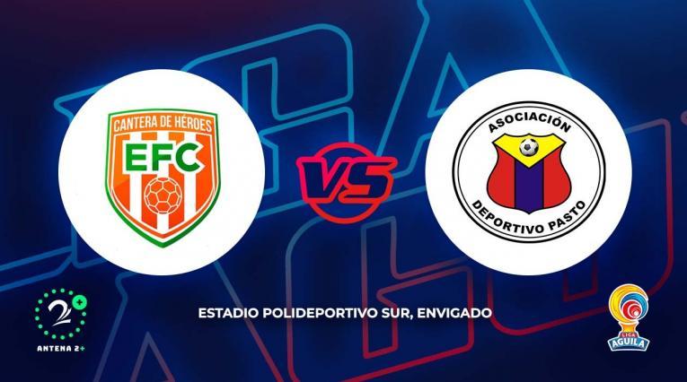 Envigado vs Deportivo Pasto - Liga Águila